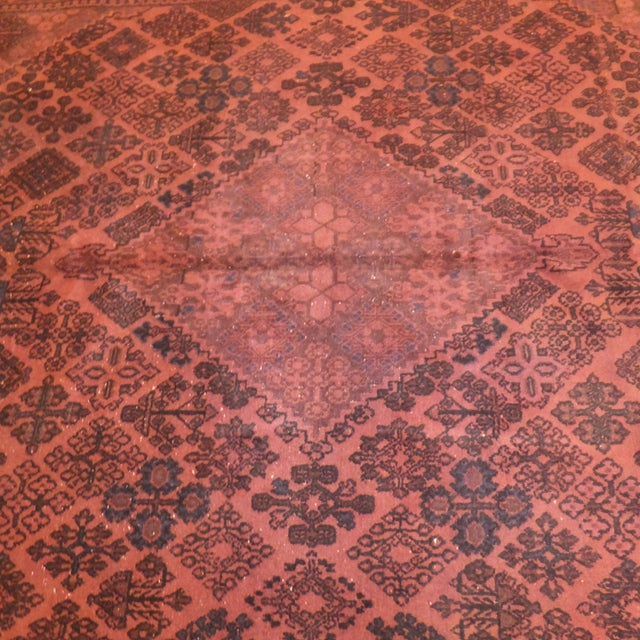 """Persian Over Dyed 11'2"""" x 7'2"""" Rug - Image 2 of 4"""