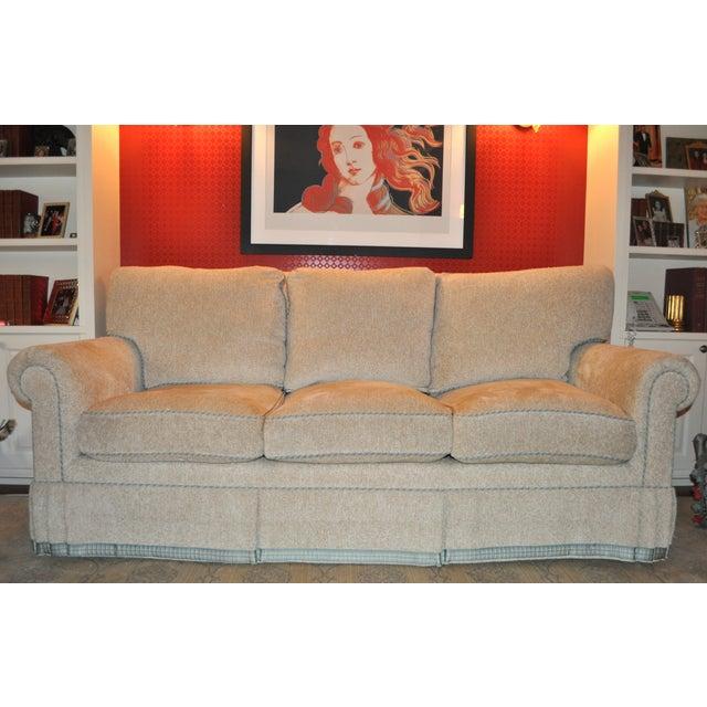 Image of Custom Oatmeal Sofa