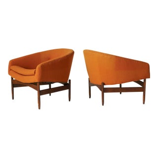 Lawrence Peabody Orange chairs