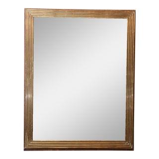Louis XVI Style Brass Mirror