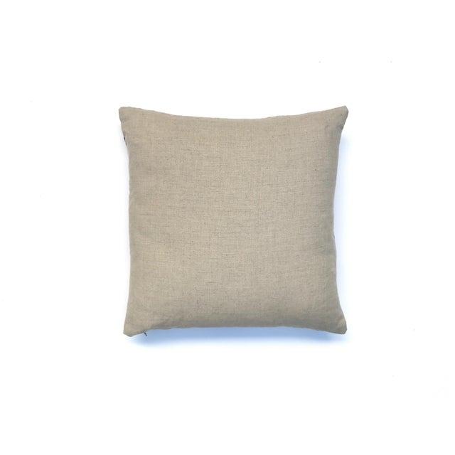 Tan & Purple Dyed Throw Pillow Chairish