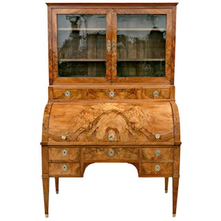18th Century Louis XVI Period Bureau à Cylindre or Cylinder Desk