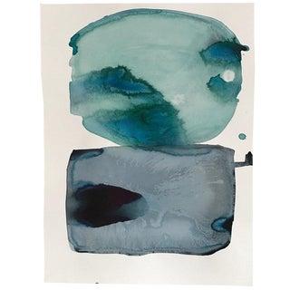"Kate Roebuck ""Atlantic"" Watercolor Painting"