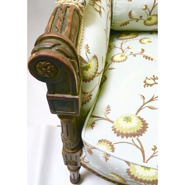 Antique French Wingback Chair - Image 6 of 9