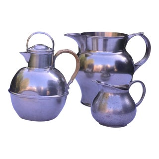 Pewter Pitchers - Set of 3