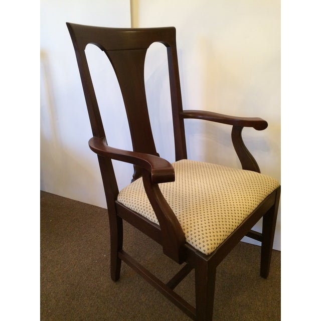 Mahogany Dining Chairs with Slip Seats - Set of 6 - Image 3 of 7
