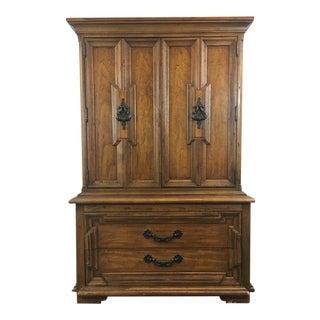 Vintage Thomasville Carved Wood Dresser