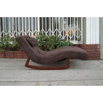 Image of Vintage Rocking Lounge Chair by Adrian Pearsall