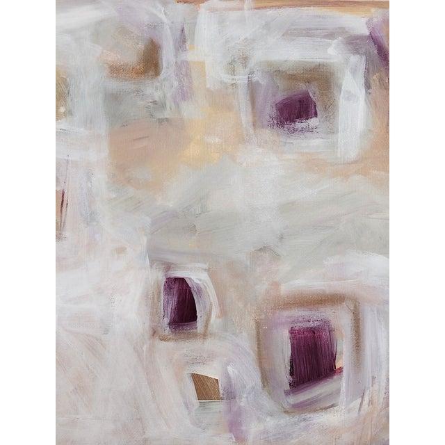 'Plum Pudding' Original Painting by Linnea Heide - Image 7 of 8