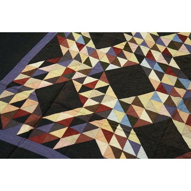 Americana Geometric Quilt - Image 2 of 4