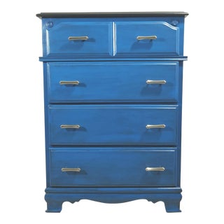 Custom Refinished 4-Drawer Bedroom Dresser