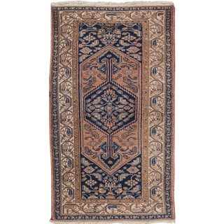 "Antique Hamadan Rug- 3'5"" x 6'"