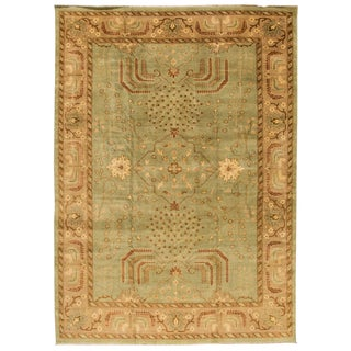 "Modern Turkish Oushak Rug - 9'10"" x 14'"