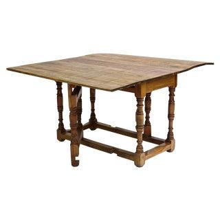 Spanish Harvest Folding Gateleg Table