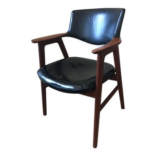 Erik Kirkegaard Mid Century Danish Teak Chair