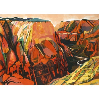 "Susan Shatter ""Grand Canyon"" Lithograph"