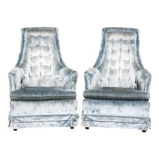 Hollywood Regency Armchairs - Pair