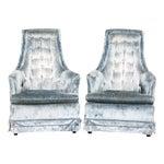Image of Hollywood Regency Armchairs - Pair