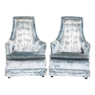 Hollywood Regency Armchairs - Pair