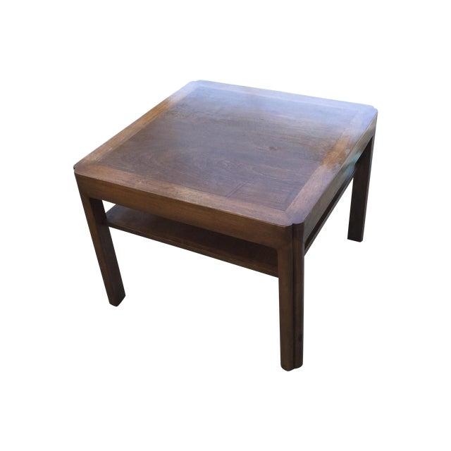 Image of Mid-Century Walnut Side Table