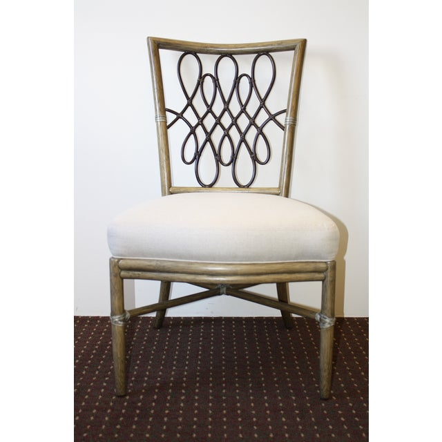 McGuire Barbara Barry Script Side Chair - Image 2 of 7