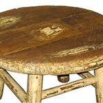 Image of Vintage Rustic Chinese Coffee Table
