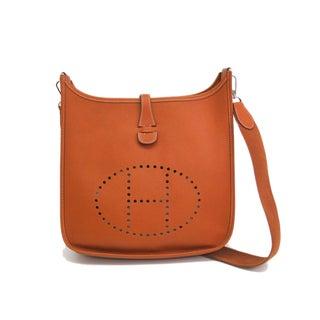 Hermes Evelyne Epsom Leather Shoulder Bag