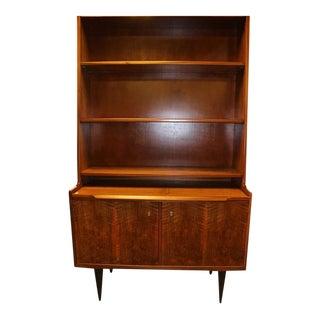 Danish Mid Century Modern Teak Bookcase