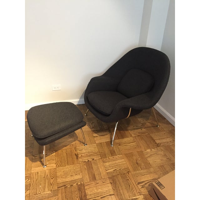 Womb Chair and Ottoman by Rove Concepts - Image 2 of 5
