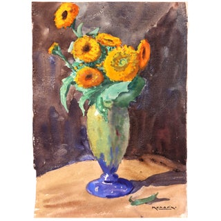 Marigolds, C. 1930 by Raoul Monory