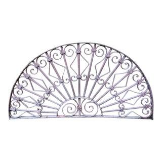 Antique Victorian Iron Window Gate