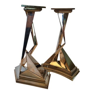 Salvador Dali Candle Holders - A Pair