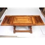 Image of 1920s Cherry Mahogany & Oak Coffee Table