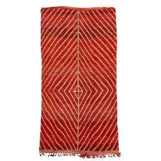 Vintage Azilal Handwoven Rug - 6′ × 11′10″