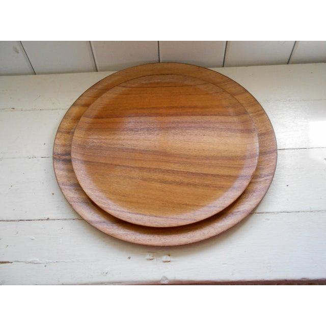 Koa Wood Trays - A Pair - Image 4 of 7