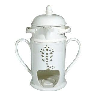 Wedgwood English Pottery Creamware Veilleuse or Food Warmer