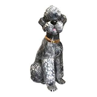 Mid-Century Modern Ceramic Dog