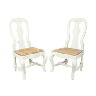 French Country Farm Chairs - A Pair