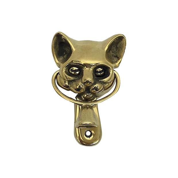 Winking Cat Door Knocker - Image 1 of 7