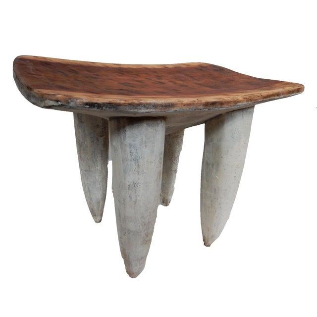 Senufo Stool or Table I coast - Image 2 of 9