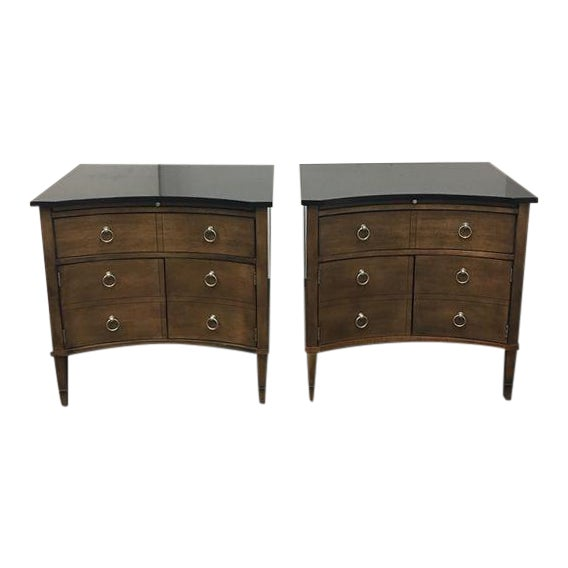 Hickory Chair Lancaster Side Tables - A Pair - Image 1 of 10