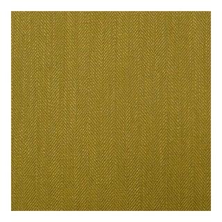 Herringbone Citron Green Fabric