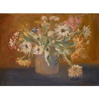Impressionist Bouquet of Spring Flowers