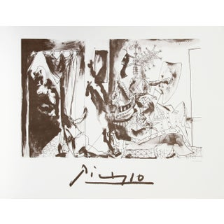Pablo Picasso - Chevalier en Armure Page Et Femme