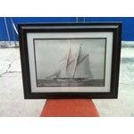 Image of Crate & Barrel Photo Art - Meteor IV Sailing Boat
