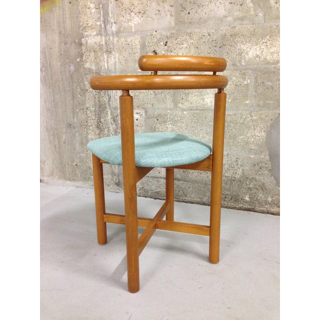 Vintage Danish Mid Century Modern Dining Chair - Image 7 of 9