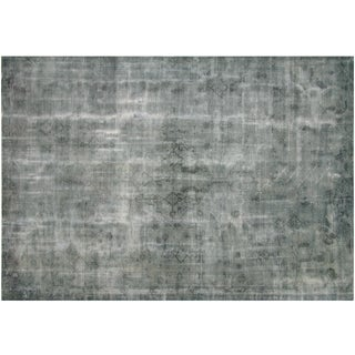 "Vintage Turkish Overdyed Rug - 8'1"" x 12'2"""