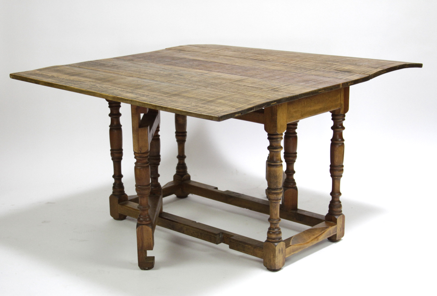 Spanish Colonial Folding Gateleg Table   Image 2 Of 6