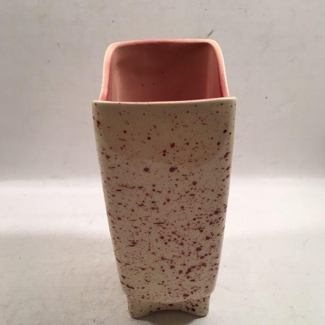 Retro USA Ceramic Art Pottery Vase - Image 4 of 7