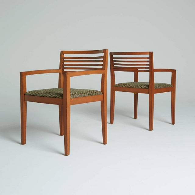 Ricchio Knoll Armchairs - Pair - Image 7 of 7